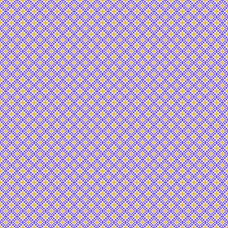 punto de cruz: Resumen sin patr�n. Punto de cruz. Artesan�a y aficiones. de color p�rpura y amarillo. Un dise�o geom�trico. Ilustraci�n del vector. Vectores