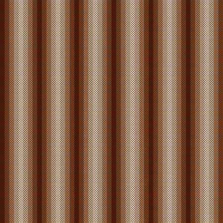punto de cruz: Abstract seamless pattern. Cross-stitch. Crafts and Hobbies. Brown shades. Geometric linear design. Vector illustration.