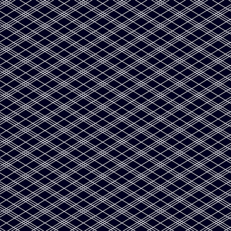 strict: Abstract seamless patterns. White stripes on a black background. Diagonal lines. Strict style. Vector illustration. Illustration
