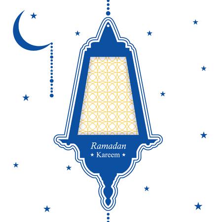 Ramadan kareem festive background traditional ramadan lantern ramadan kareem festive background traditional ramadan lantern blue and white greeting card the m4hsunfo