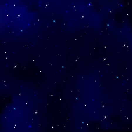 Starry Sky Dark Blue Night Sky Brightly Shining Stars And Constellations Royalty Free Cliparts Vectors And Stock Illustration Image 57683550