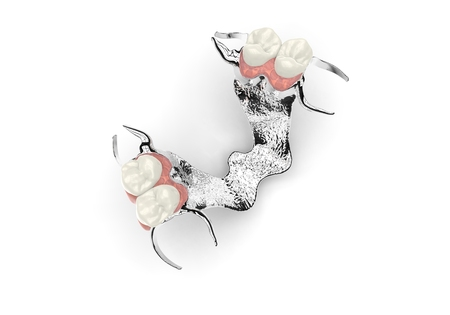 3D rendering dentures