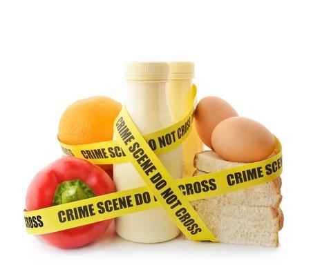 gıda: Tehlikeli gıda Stok Fotoğraf