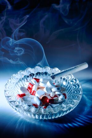 addictive: Smoking seriously harms or kills and is addictive