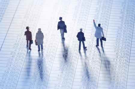 Unternehmer spielen die Börse Standard-Bild - 32870688