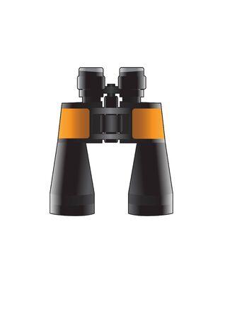 Binoculars Vector Illusztráció