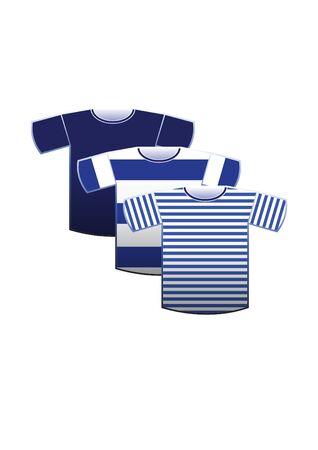 sailing crew: Sailor Tshirt Vector Illustration