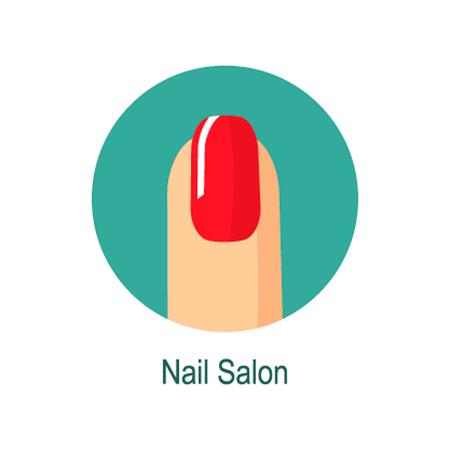 Nail salon icon, Nail salon icon vector, Nail salon icon picture, Nail salon icon flat, Nail salon icon app, Nail salon icon web Çizim