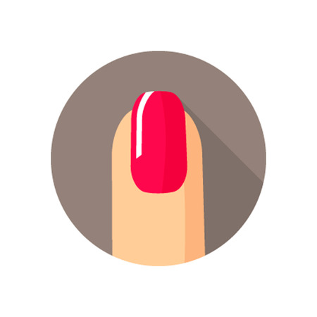 nail salon: Nail salon icon, Nail salon icon vector, Nail salon icon picture, Nail salon icon flat, Nail salon icon app, Nail salon icon web Illustration