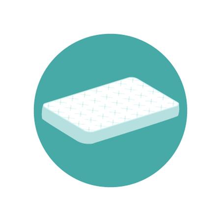 mattress: Mattress icon.