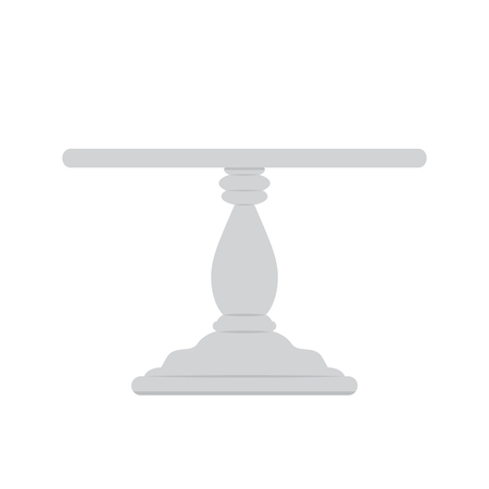 Stand cake. flat vector illustration isolate on a white background Векторная Иллюстрация