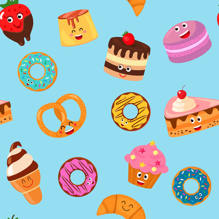 seamless background sweets