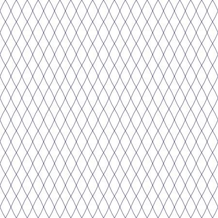 Seamless Fishnet. illustrazione vettoriale piatta su uno sfondo bianco