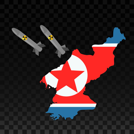 Nuclear missiles of North Korea are at the United States.