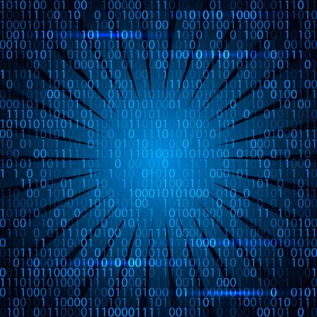 laptop screen: Modern technology code