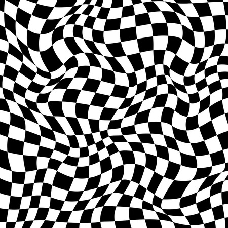 Abstract checkered background.