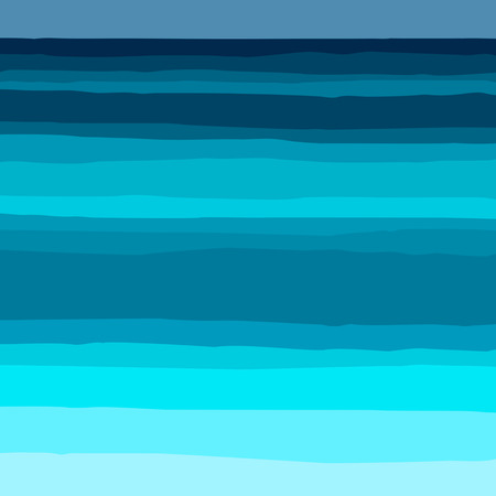 paintings: Abstract ocean background Illustration