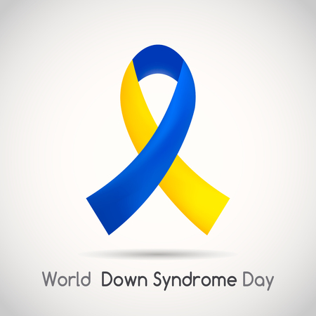 World Down Syndrome Day. icon. vector illustration isolated on white background