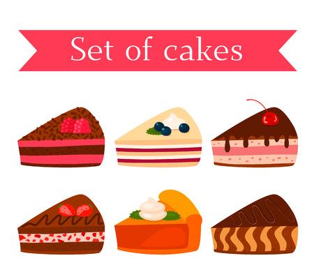 Een set van verschillende smakelijke koekjes - chocolade, noten, frambozen, aardbeien en pompoen. zwart-witte achtergrond
