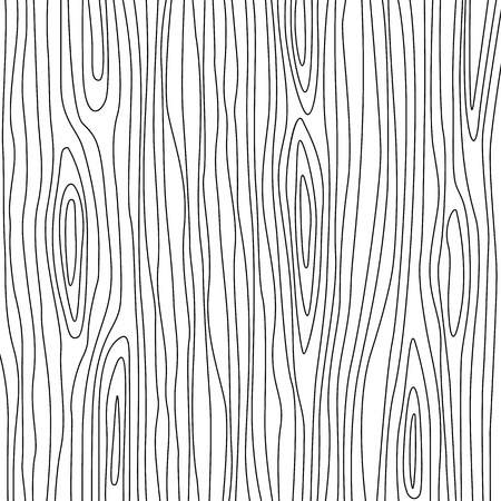 Abstract tree texture in linear style. flat vector illustration