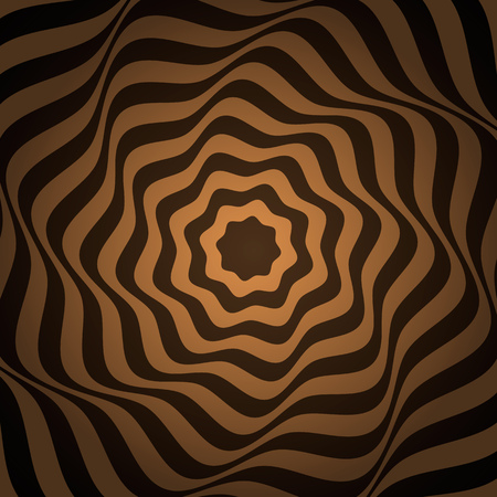 psychedelic abstract banner with a figure. modern background design. Çizim