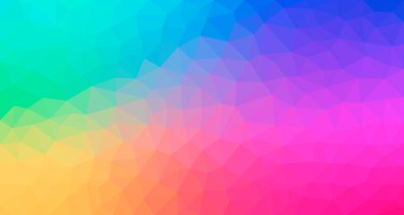 Modern bright abstract polygonal background. Geometric background texture Archivio Fotografico - 132024811