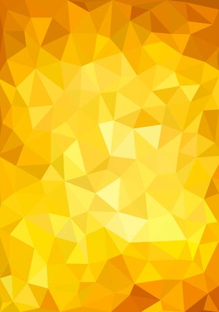 low poly geometric background of colored triangles of different sizes
