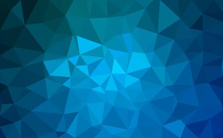 Modern blue abstract polygonal background. Geometric texture background Иллюстрация
