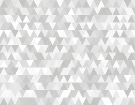 Abstract gray seamless pattern of triangles in ethnic retro style