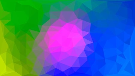 Modern bright blurred abstract polygonal mosaic background. Geometric texture background in origami style. low poly style. business design templates. vector illustration