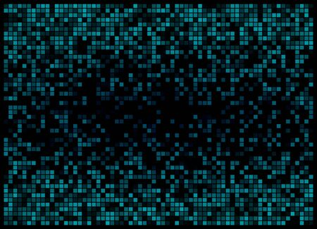 Modern computer techno background. Abstract pixel background for web design. vector illustration