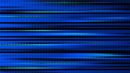 Abstract blue halftone background with dots. vector