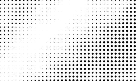 Gradient halftone vector texture overlay. Monochrome abstract geometric pattern