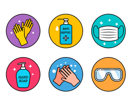 Code of Conduct for the Global Coronavirus Pandemic. use a medical mask, wash your hands, treat with an antiseptic.