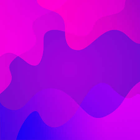 abstract gradient background from pink to blue. abstract transparent waves. vector illustration and texture for print Illustration
