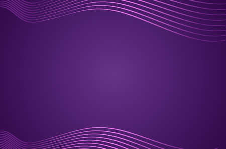 Abstract background with neon waves and empty space for text. vector illustration Illusztráció