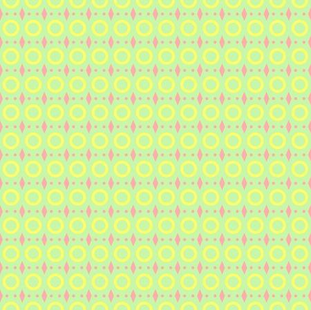 pink green: Patr�n geom�trico incons�til abstracto. Calm amarillas, verdes, colores rosados Vectores