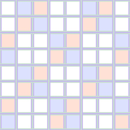 alveolus: Abstract seamless checkered wallpaper pattern. Calm pastel colors