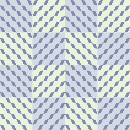 lozenge: Abstract seamless checkered pattern: diagonal chain of rhombuses in cells Illustration