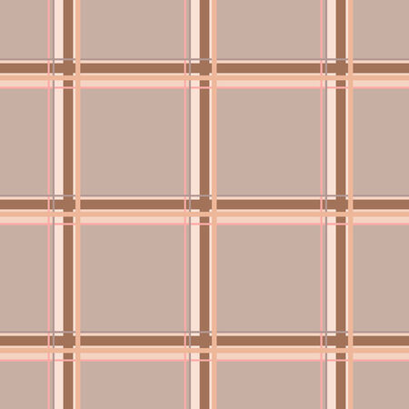 pink brown: Seamless checkered pattern in warm colors. Orange, pink, brown intersecting lines