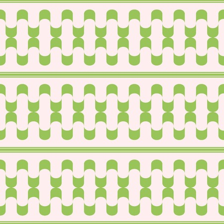 longitudinal: Abstract seamless pattern of waves winding tapes separated by longitudinal lines