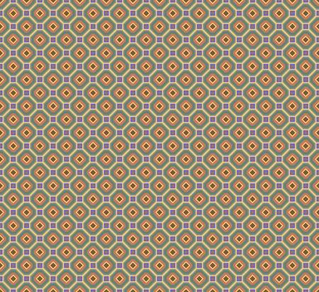 felgen: Abstract seamless Stoff Retro-Muster aus bunten R�nder ineinander