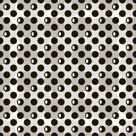 Abstract black and white seamless pattern. Beautiful modern design for various creative projects