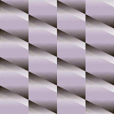 contrasting: Stylish modern seamless pattern. Contrasting fashionable backdrop in black, white, muted lilac colors. Vector illustration for beautiful creative design