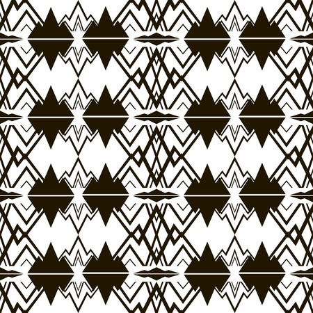 specular: Modern black and white seamless pattern. Beautiful vector illustration to create a stylish unusual design Illustration