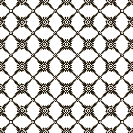 sophisticate: Modern black and white seamless pattern. Beautiful vector illustration to create a stylish design Illustration