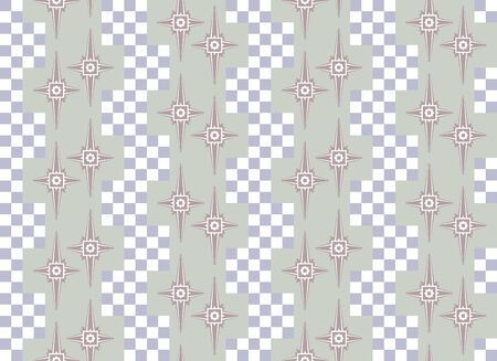 muted: Abstract seamless pattern in nice muted colors. Chess elements. Beautiful vector illustration to create a stylish unusual design