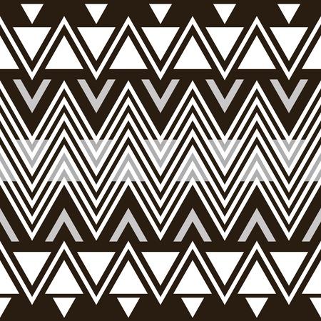 flexure: Stylish elegant modern seamless pattern. Black and white zigzag. Vector illustration for beautiful creative design