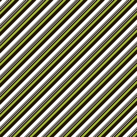 varying: Abstract seamless striped pattern of horizontal parallel varying thickness lines. Geometric print in black, white and green colors. Beautiful contrasting background. Vector illustration