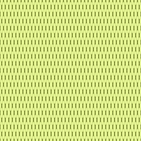Abstract seamless pattern of oval partitions. Contrasting cancellated print in green colors. Vector illustration for various creative projects